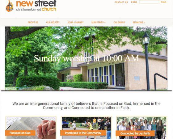 new street christian reformed church